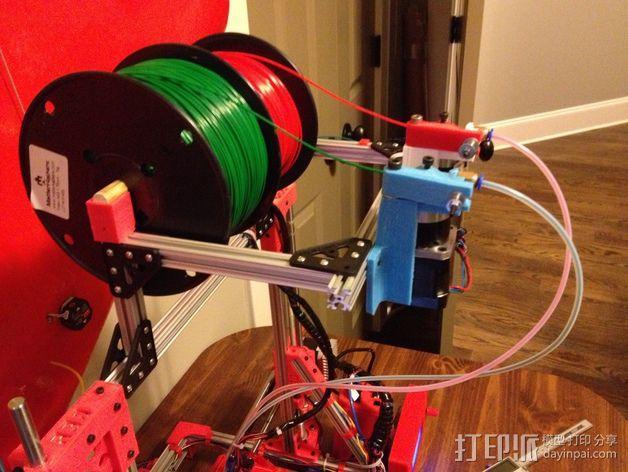 双挤出机 3D模型  图10