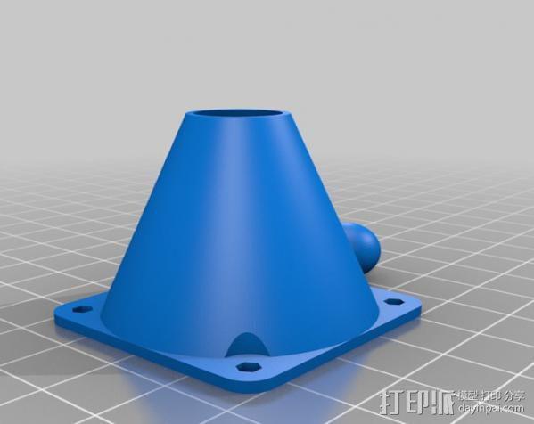 铰链式球形接头 3D模型  图5