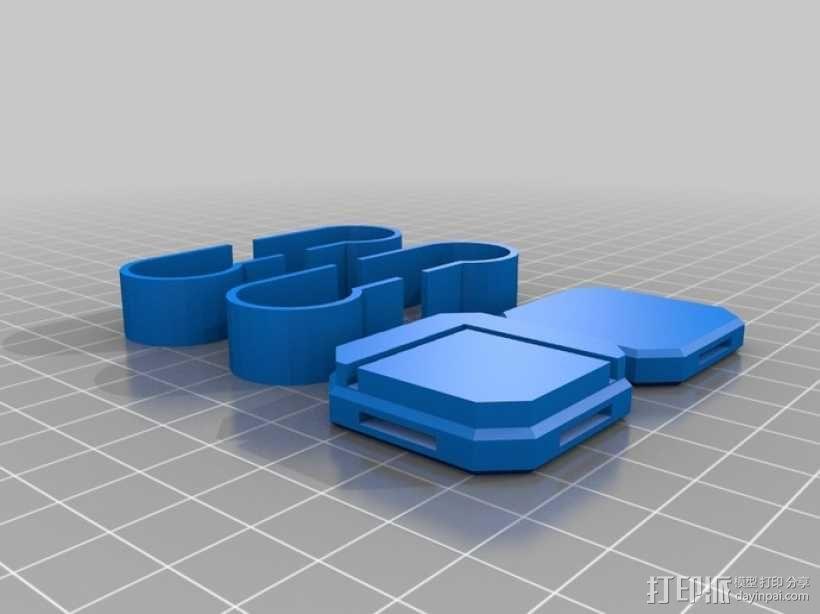 Replicator 2打印机减震器  3D模型  图2