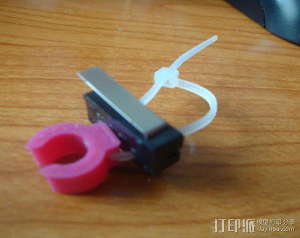 打印机限位开关夹 3D模型  图9