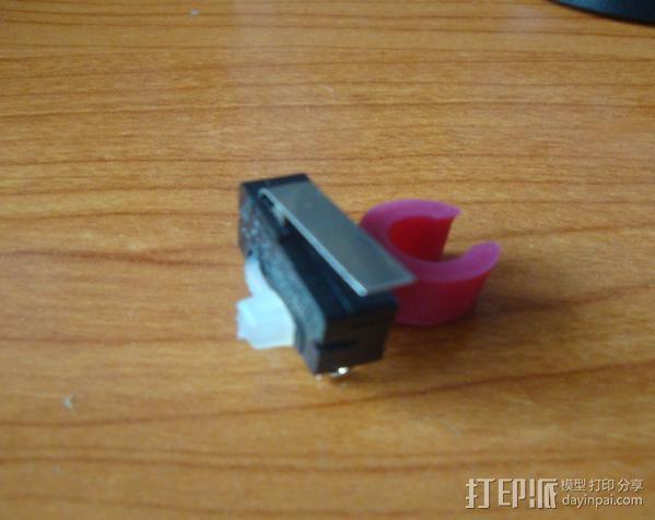 打印机限位开关夹 3D模型  图11