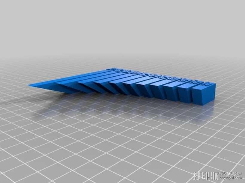 垂悬测试 3D模型  图2