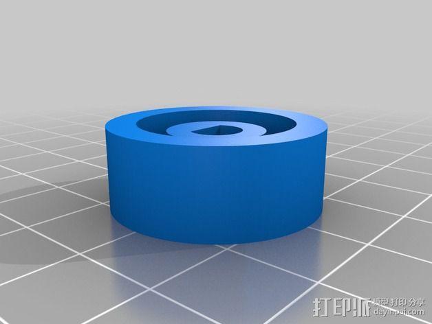 RepRap智能控制器保护框 3D模型  图7