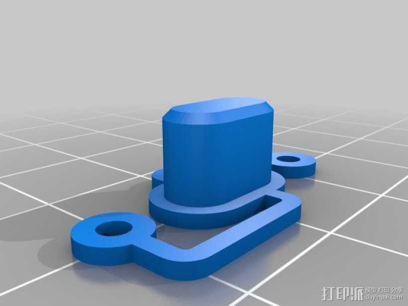 RepRap智能控制器保护框 3D模型  图13