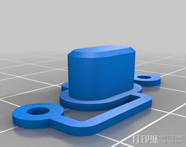 RepRap智能控制器保护框 3D模型  图14
