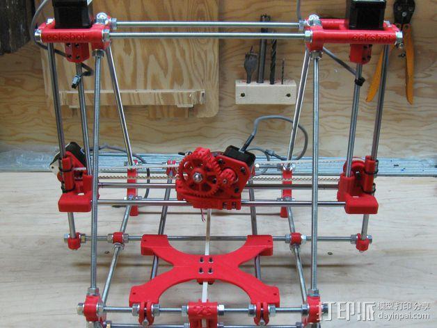 ecksbot打印机  3D模型  图1