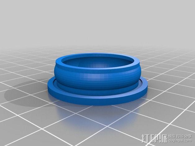ecksbot打印机  3D模型  图3