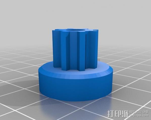 ecksbot打印机  3D模型  图7