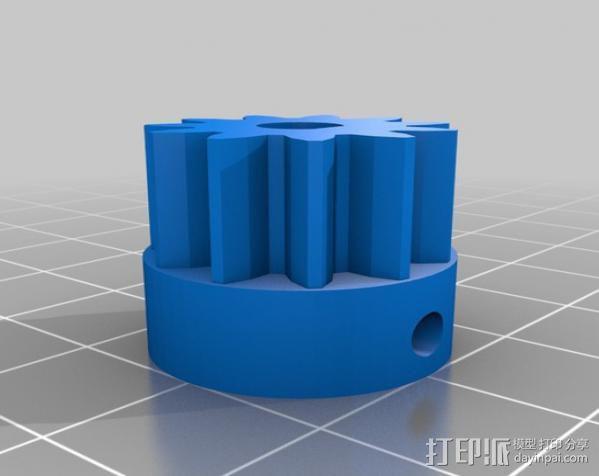 ecksbot打印机  3D模型  图10