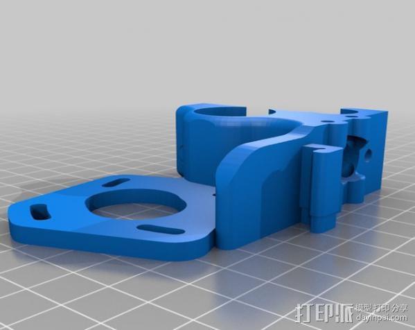 ecksbot打印机  3D模型  图22