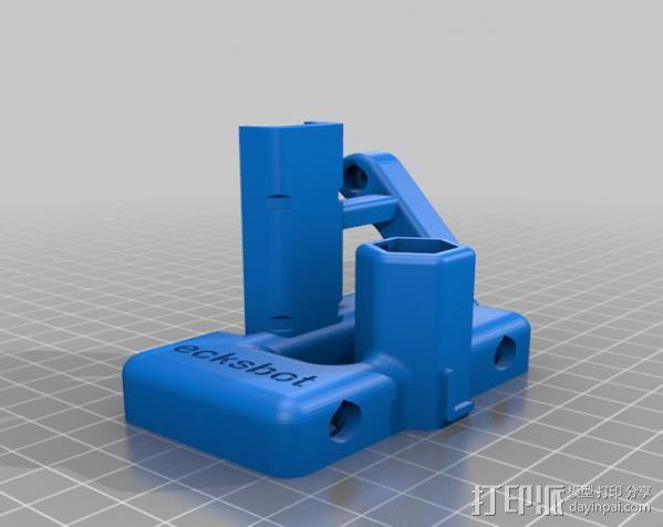 ecksbot打印机  3D模型  图24