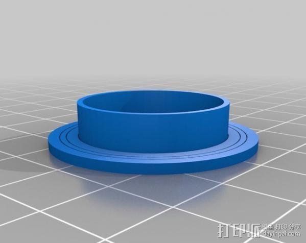 ecksbot打印机  3D模型  图26
