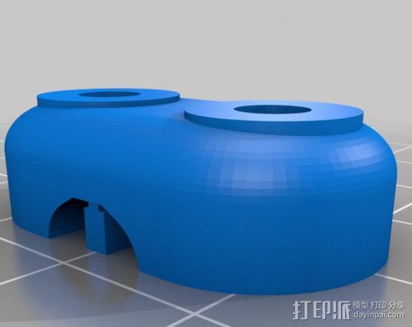 ecksbot打印机  3D模型  图30