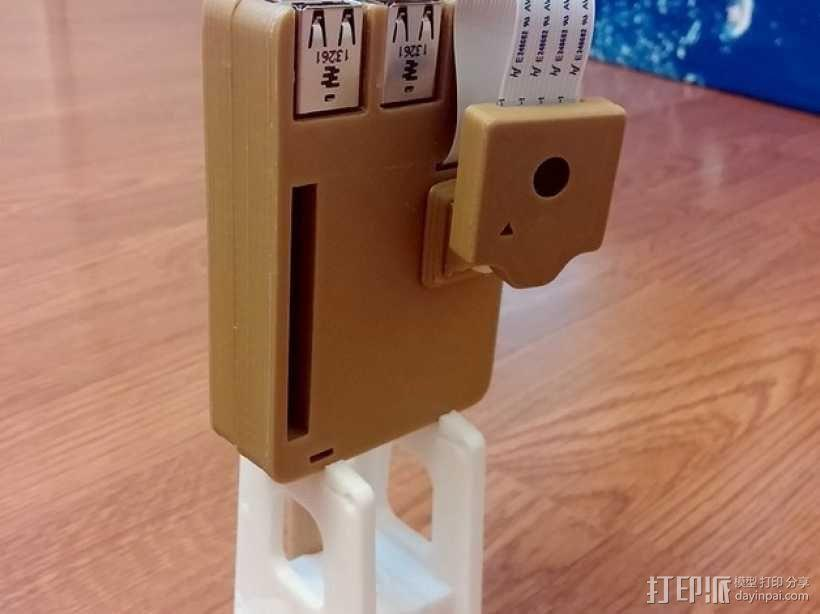 Octopi WiFi相机保护外盒 3D模型  图1