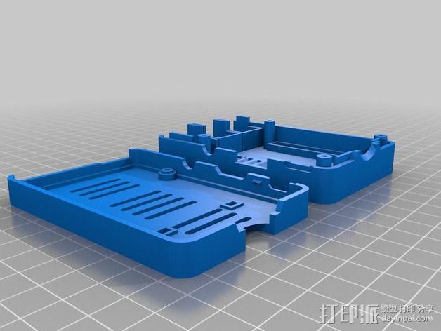 Octopi WiFi相机保护外盒 3D模型  图3