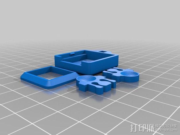 Octopi WiFi相机保护外盒 3D模型  图4