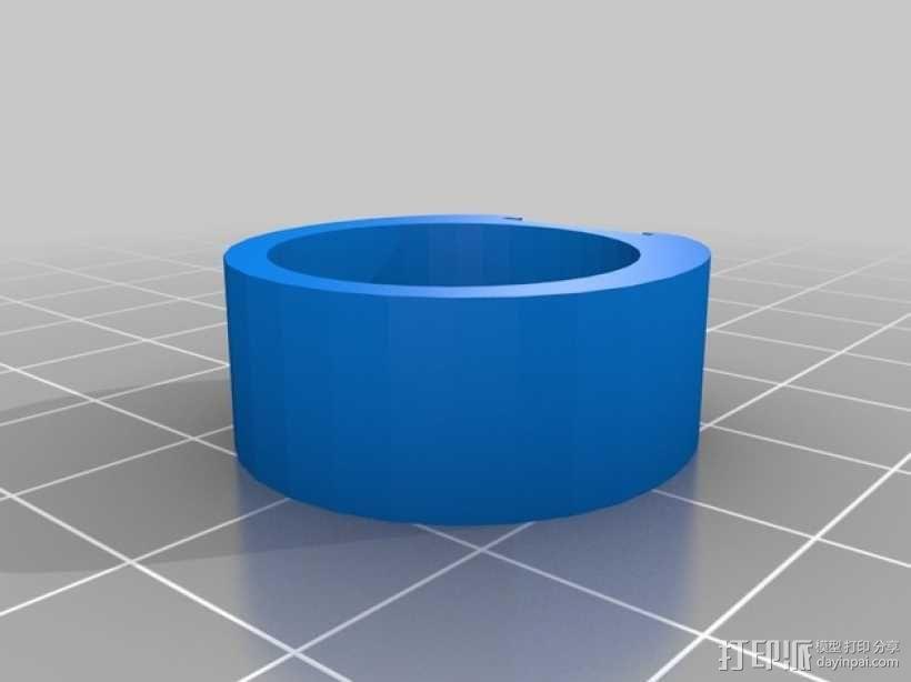 线轴架· 3D模型  图6