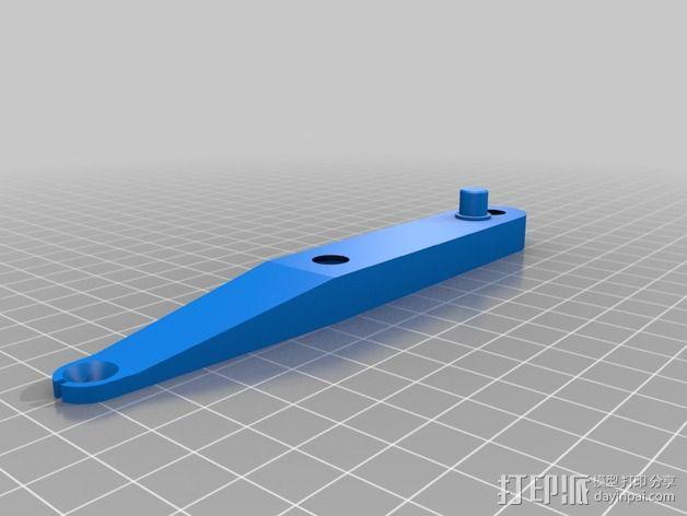 旋转线轴架 3D模型  图7