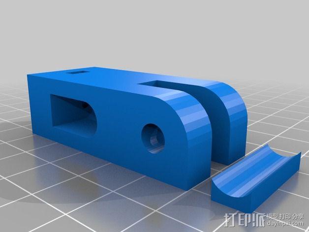 打印机Y轴张紧器 3D模型  图2