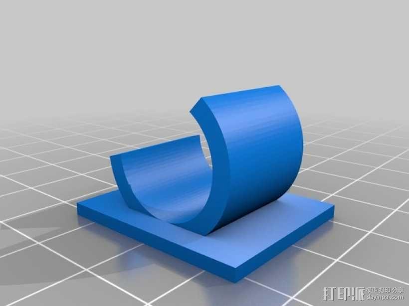 线材线轴架 3D模型  图5