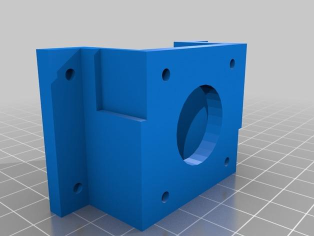 Da Vinci 1.0步进机 3D模型  图2
