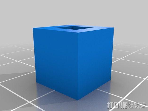 刻度块  3D模型  图2