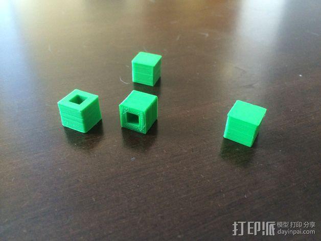 刻度块  3D模型  图1