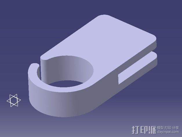 导线环 导线管 3D模型  图4