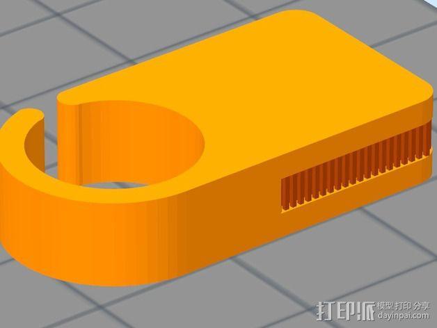 导线环 导线管 3D模型  图3
