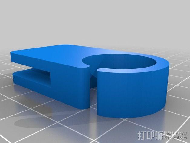 导线环 导线管 3D模型  图2