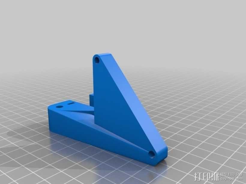 Prusa i3挤出机通风导管 3D模型  图2