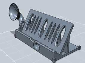 IPhone 站架扬声器 3D模型