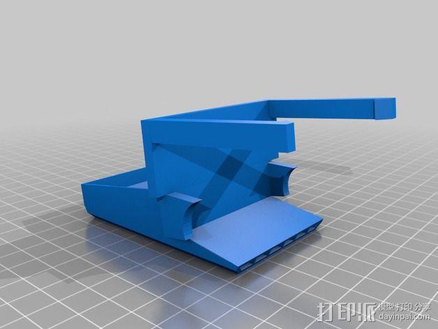 XYZprinting Davinci打印机风扇导管 3D模型  图2