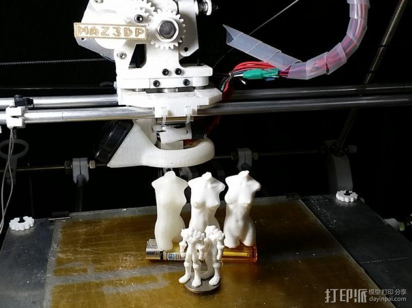 战士与维纳斯 3D模型  图3
