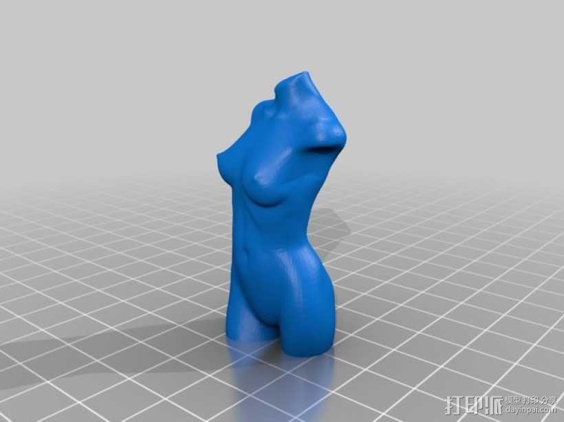 战士与维纳斯 3D模型  图2