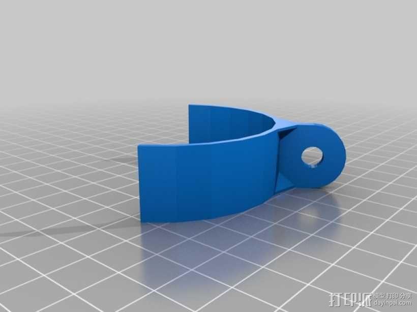 Rigidbot打印机摄像头支撑座 3D模型  图2