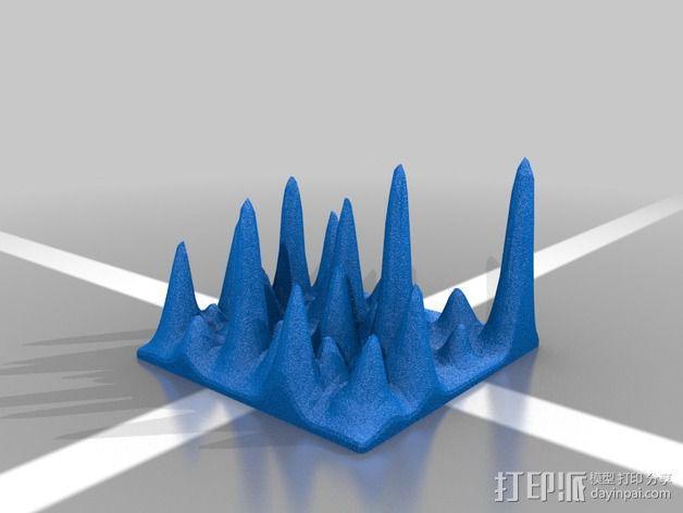 石笋模型 3D模型  图2