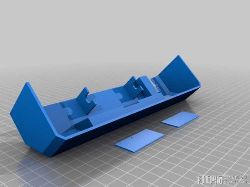 Prusa i3打印机前盖装饰 3D模型  图2