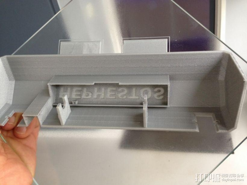 Prusa i3打印机前盖装饰 3D模型  图5