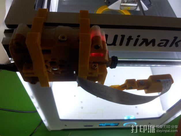 树莓派相机框架和底座 3D模型  图10
