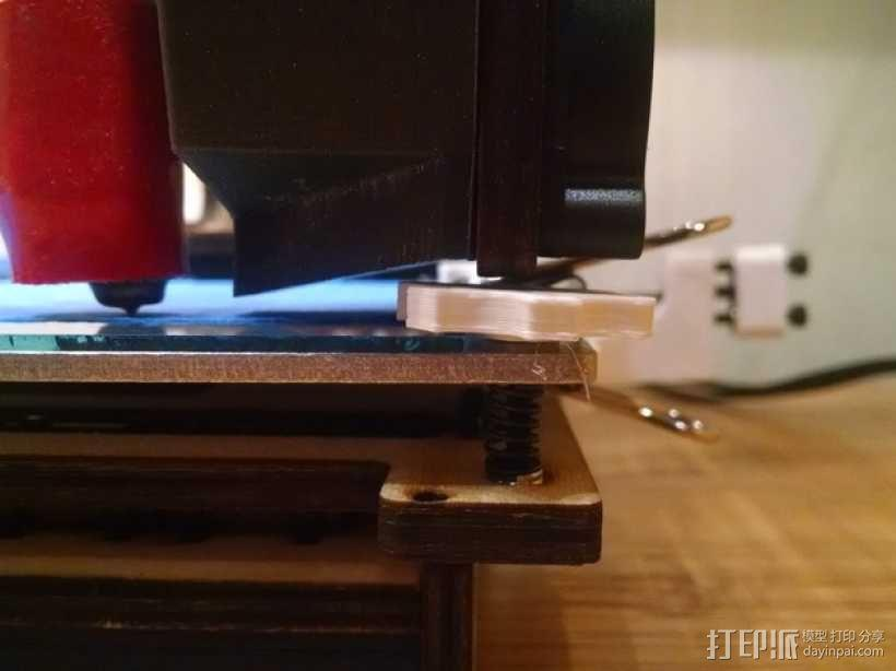 拇指旋轮 旋钮 3D模型  图5