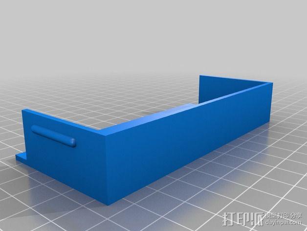 电源盖板  3D模型  图2