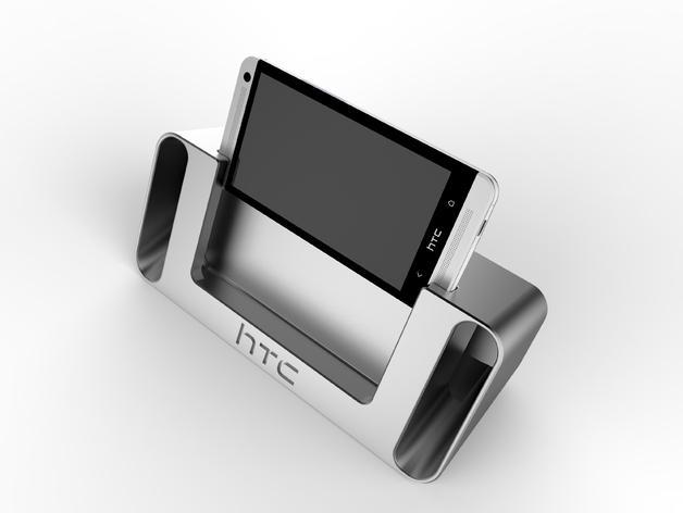 HTC One 音响底座 3D模型  图6
