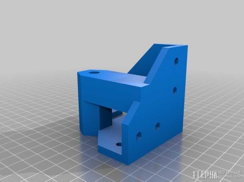 ScribbleJ CoreXY打印机 3D模型  图6