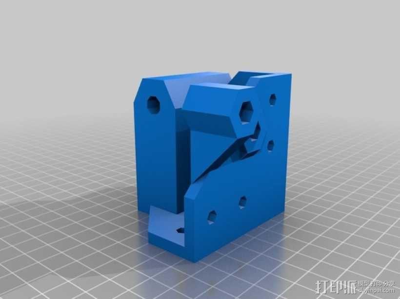 ScribbleJ CoreXY打印机 3D模型  图5