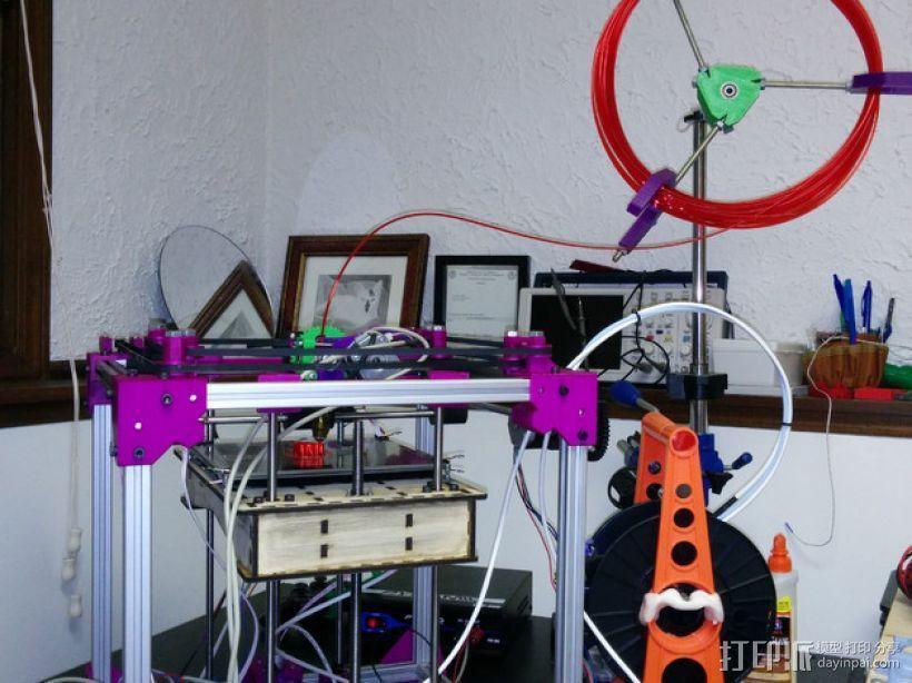 ScribbleJ CoreXY打印机 3D模型  图3