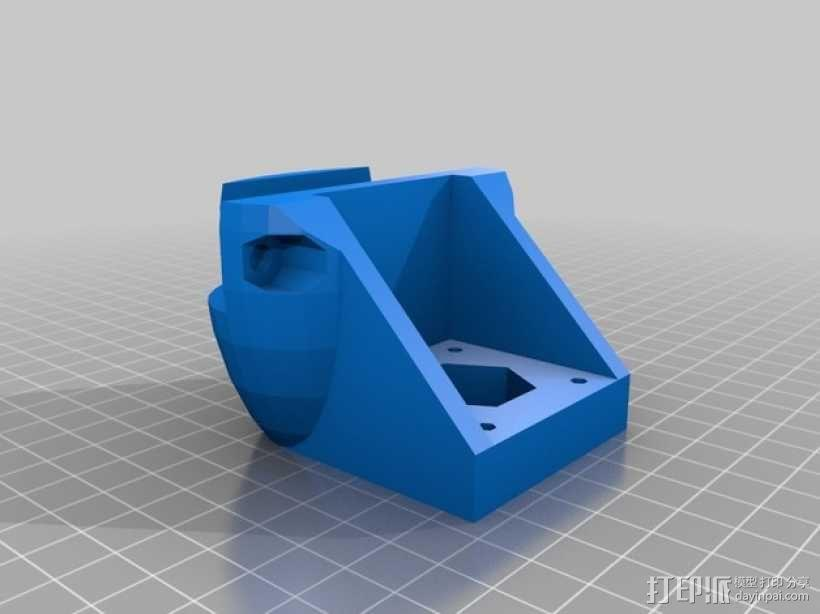 ScribbleJ CoreXY打印机 3D模型  图9