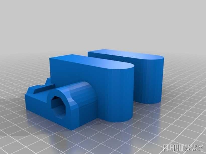 ScribbleJ CoreXY打印机 3D模型  图8