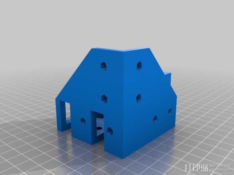 ScribbleJ CoreXY打印机 3D模型  图7