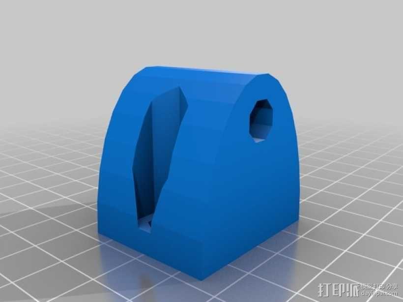 ScribbleJ CoreXY打印机 3D模型  图10